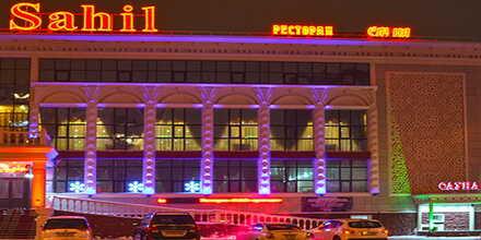 VIP сауна №1 в комплексе Sahil