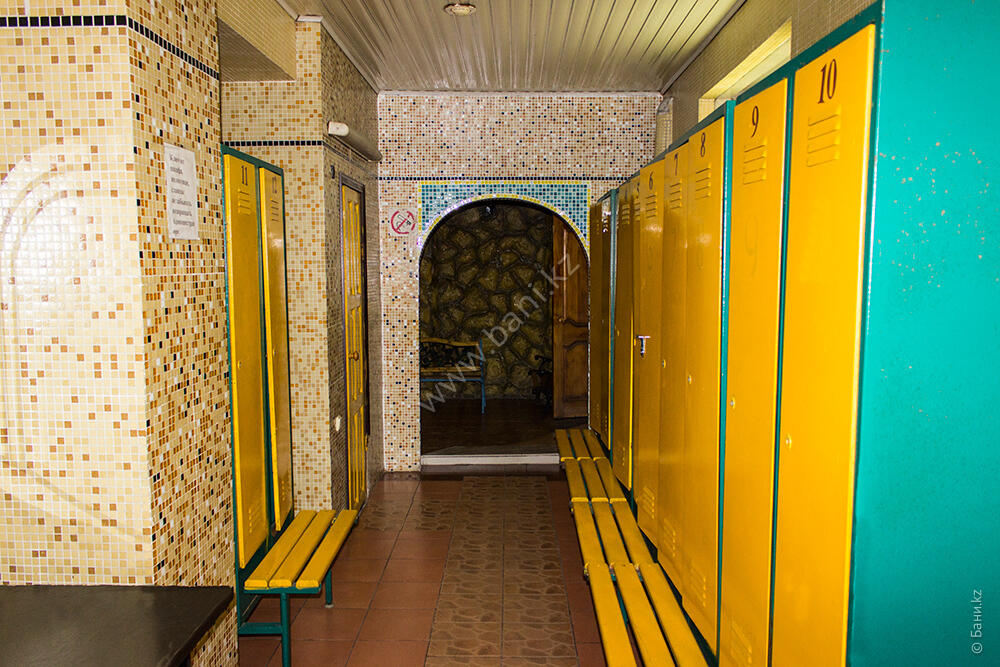 Сауна с бассейном в комплексе «Агидель» – Общая баня