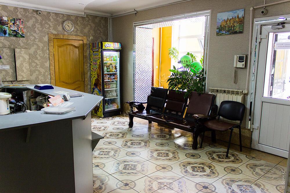 Сауна с джакузи в комплексе «Агидель» – Холл