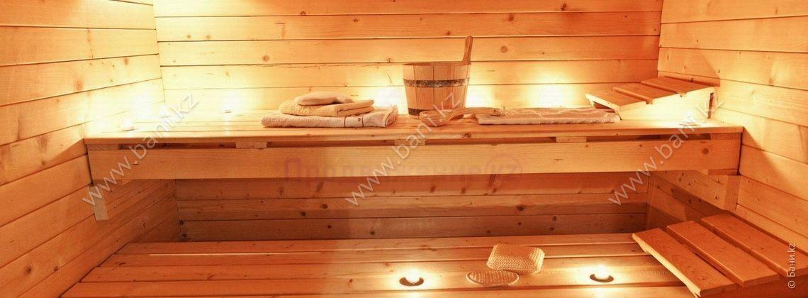 Финская сауна в банно-гостиничном комплексе на Тургенева