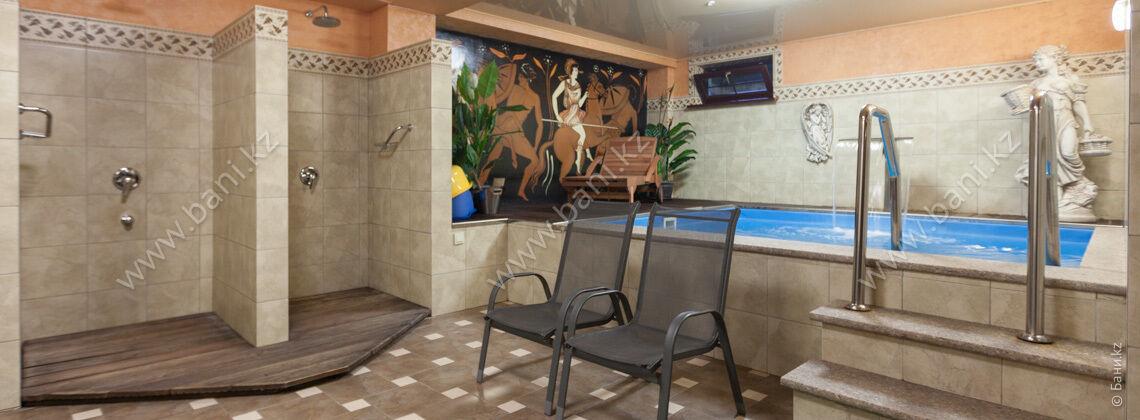 Сауна №1 в современном стиле в комплексе Office – фото 9