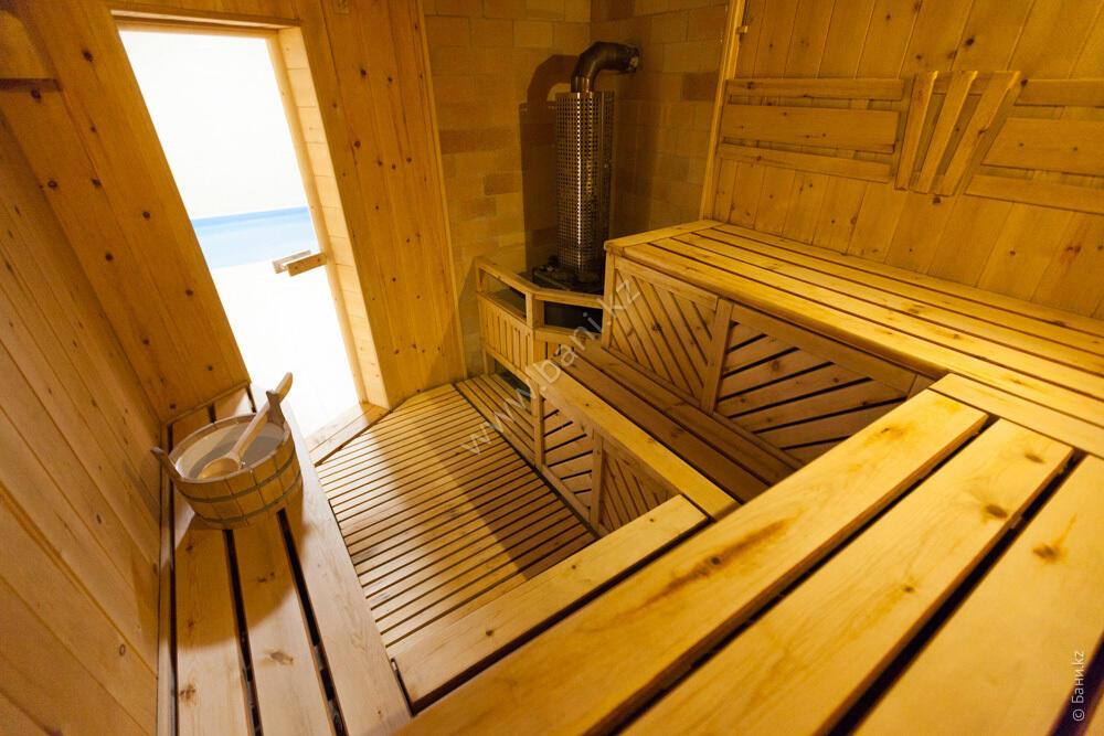 Баня «Светлая» в комплексе «VIP-сауна Альпийская» – Фото сауны «Светлая»