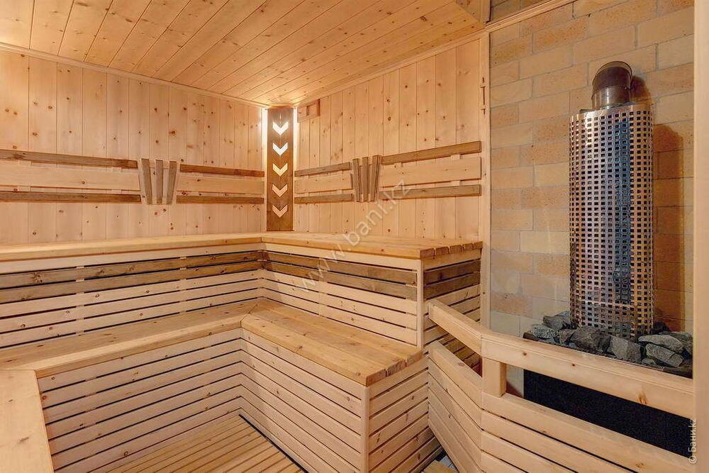 Баня «Светлая» в комплексе «VIP-сауна Альпийская» – Фото сауны «Темная» – фото 9