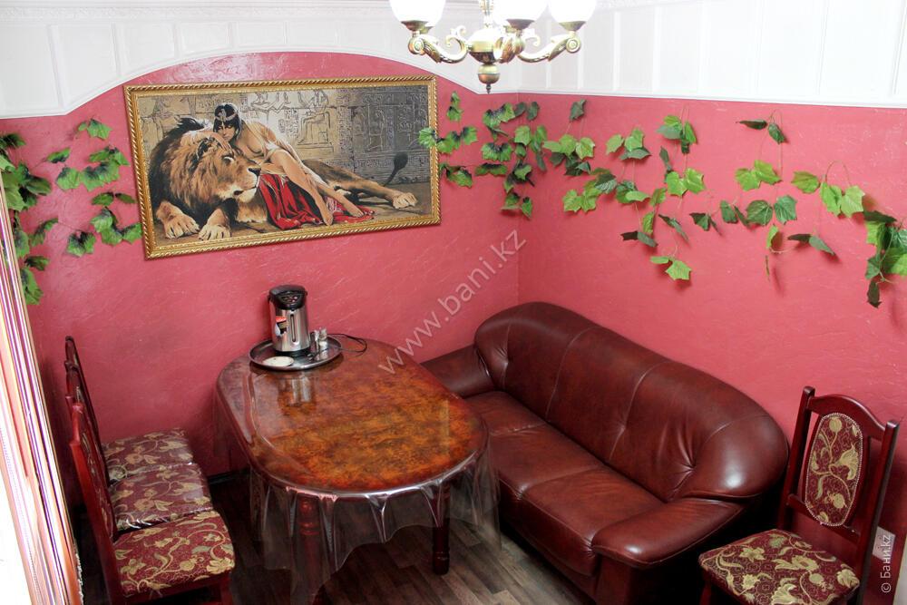 Малая сауна в комплексе «Карагай» – Интерьер малой сауны