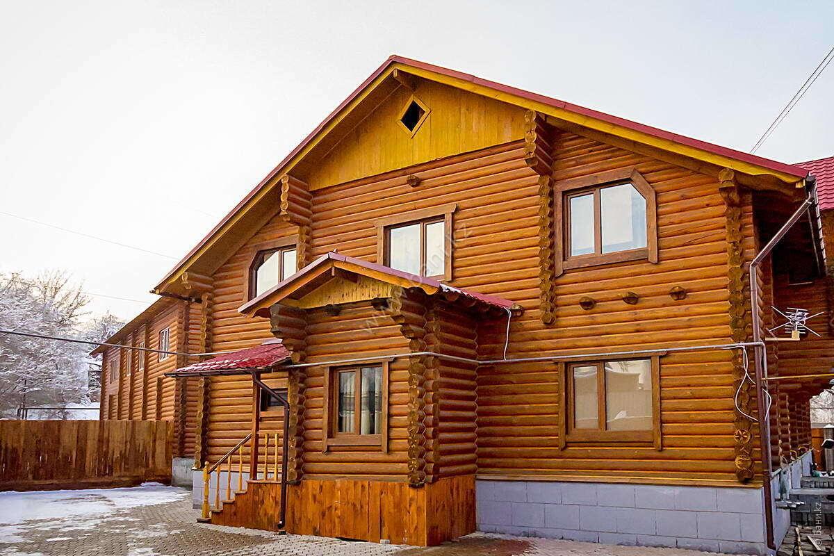 Малая сауна №1 в комплексе «Царское село» – Фото фасада