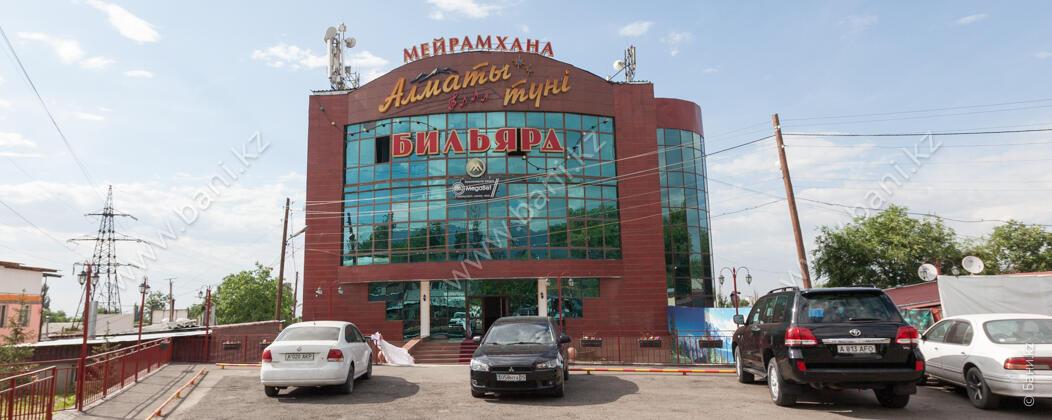 Русская баня в комплексе «Алматы Түнi» – Фото фасада