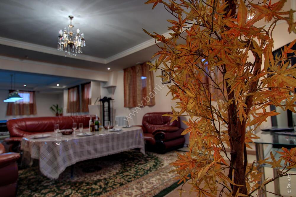 Русская баня в комплексе «Алматы Түнi» – Фото русской сауны – фото 3