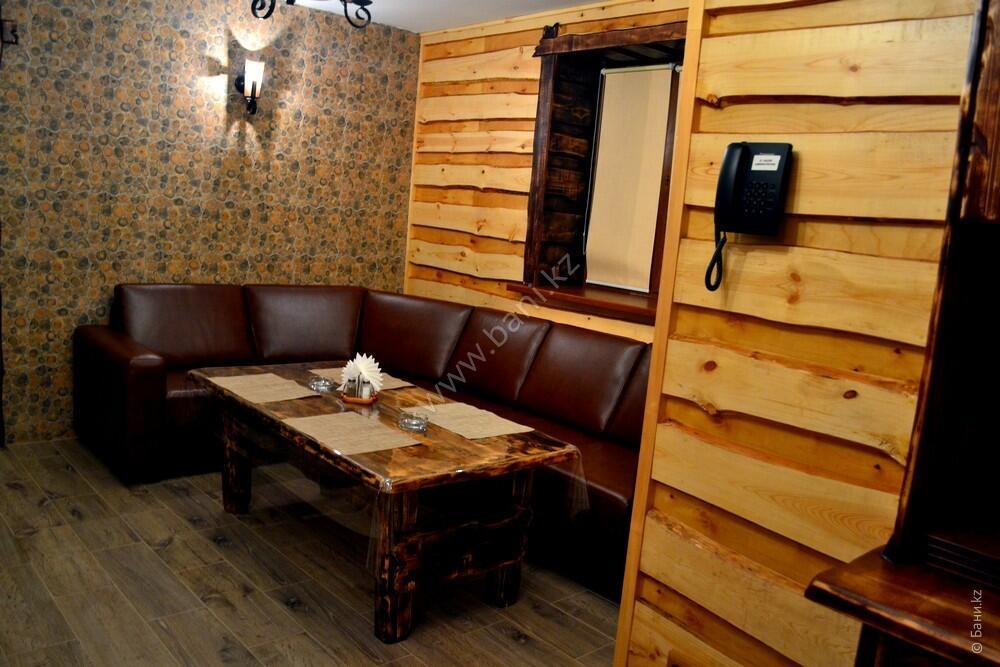 Пятиместная сауна в комплексе «Хуторок» – Пятиместная сауна на дровах – фото 7