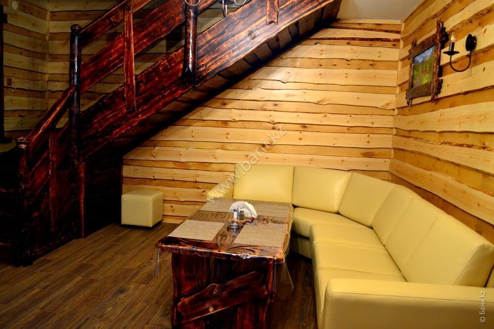 Семиместная сауна № 2 в комплексе «Хуторок» – Шестиместная сауна на дровах