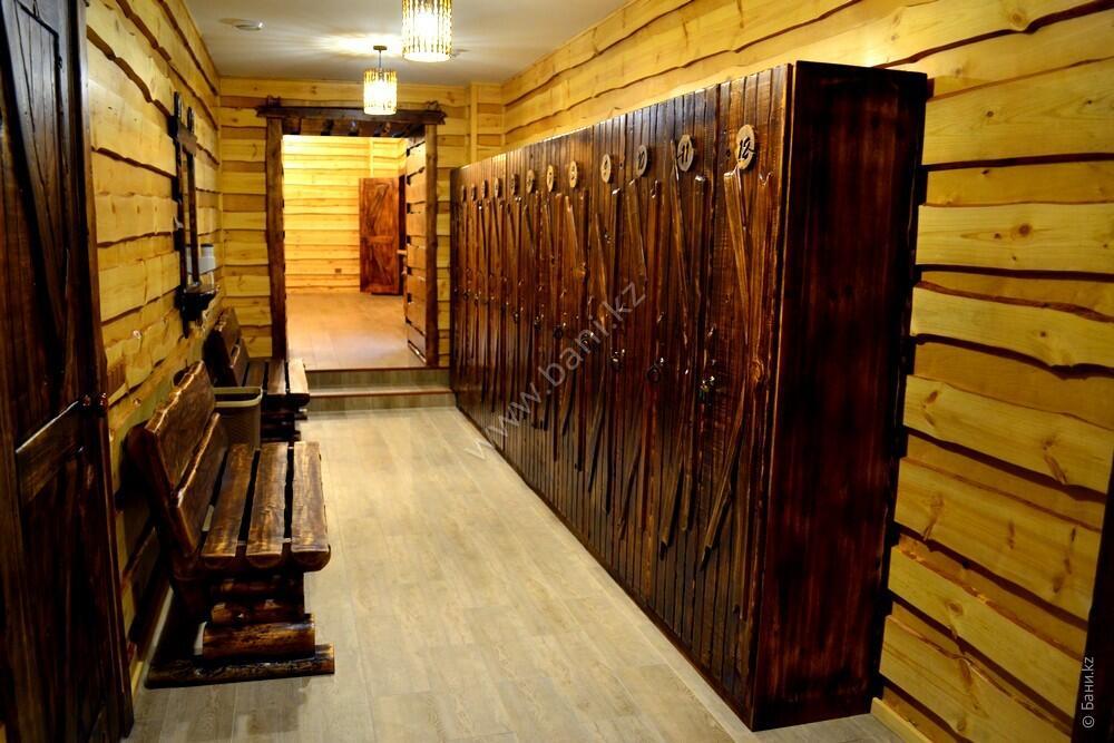 VIP сауна на 12-20 персон в комплексе «Хуторок» – VIP сауна на дровах