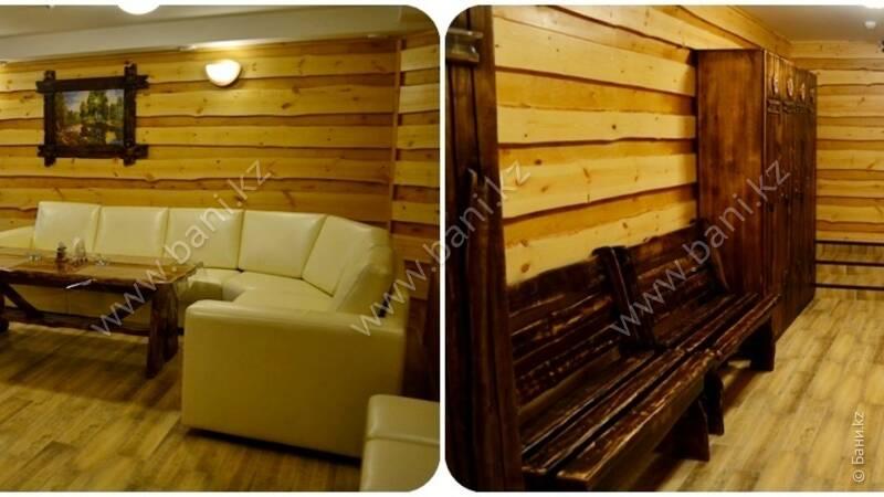 Семиместная сауна №1 на дровах