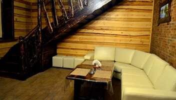 Хуторок – Восьмиместная сауна на дровах