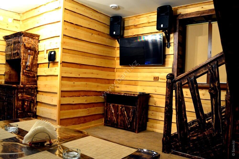 Восьмиместная сауна на дровах Хуторок – Восьмиместная сауна на дровах – фото 2