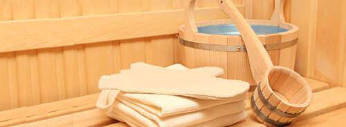 Русская баня на дровах в комплексе AquaSauna