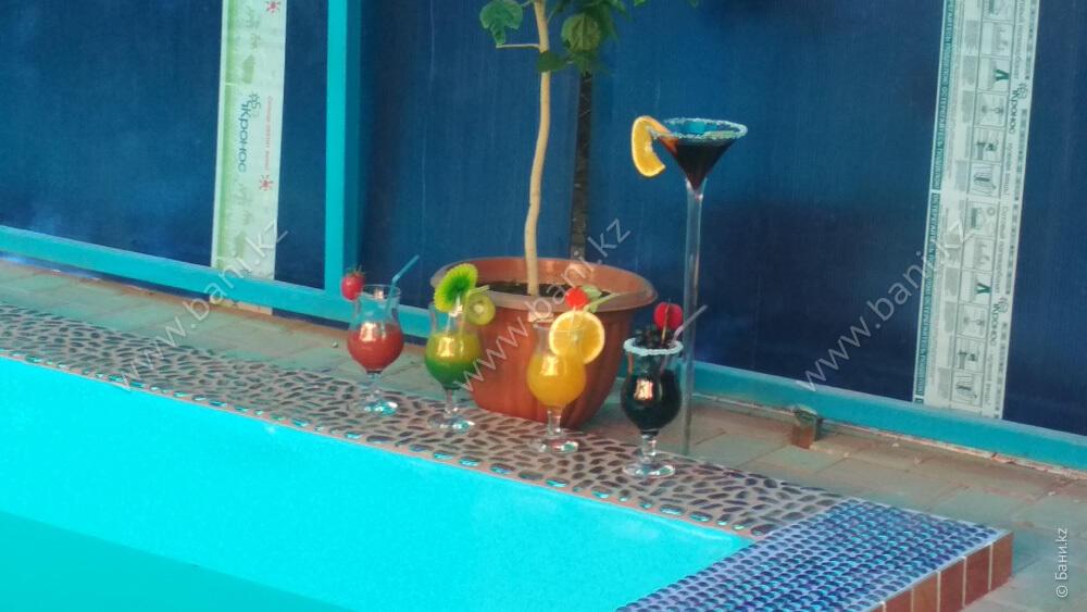 Русская баня в комплексе Fata Morgana – Крытый бассейн на свежем воздухе