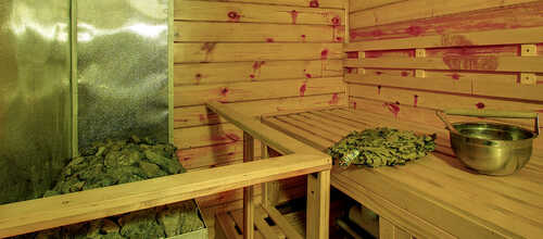 Средняя сауна в комплексе «На Крамского» – фото 3