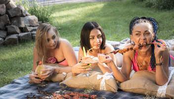 На пикник-шашлык в комплекс Fata Morgana!