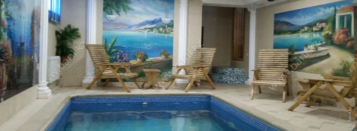 Сауна с бассейном в спортивно-оздоровительном комплексе «Березка»