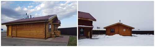 "Банный комплекс из сруба на дровах "" БуАна ""  – фото 4"