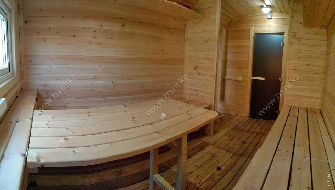 Ханская баня в семейном банно-оздоровительном комплексе ЭКО-БАНЯ Парная №1  – Фото Ханской бани