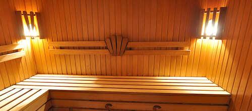 Средняя сауна в банном комплексе «Хан»
