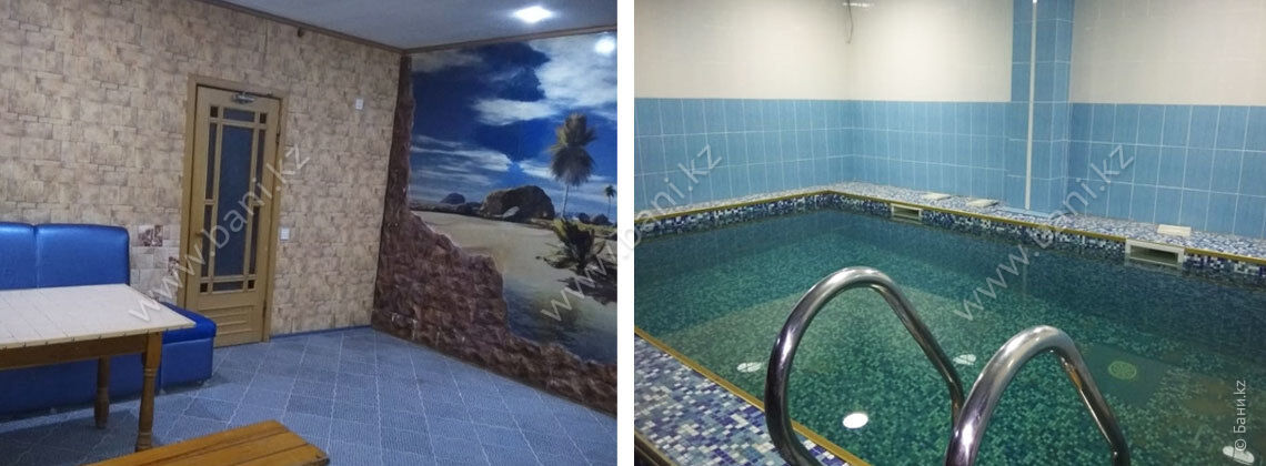 Сауна с бассейном в комплексе «Антураж»