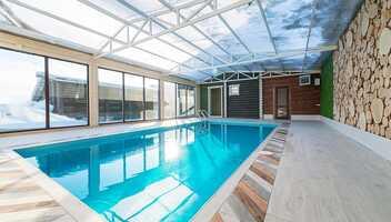 Банный комплекс «ТеремЪ» приглашает в теплый бассейн!